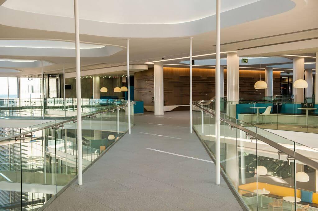 Bộ sưu tập Unicolore được ứng dụng cho sàn nhà