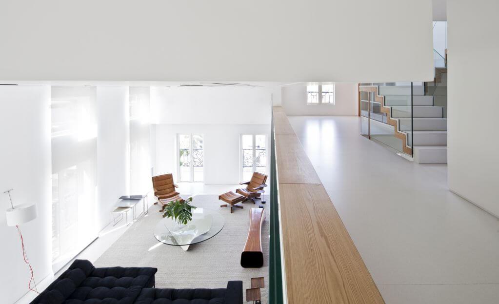 Ibirapuera nhấn mạnh thiết kế theo các tầng khu vực