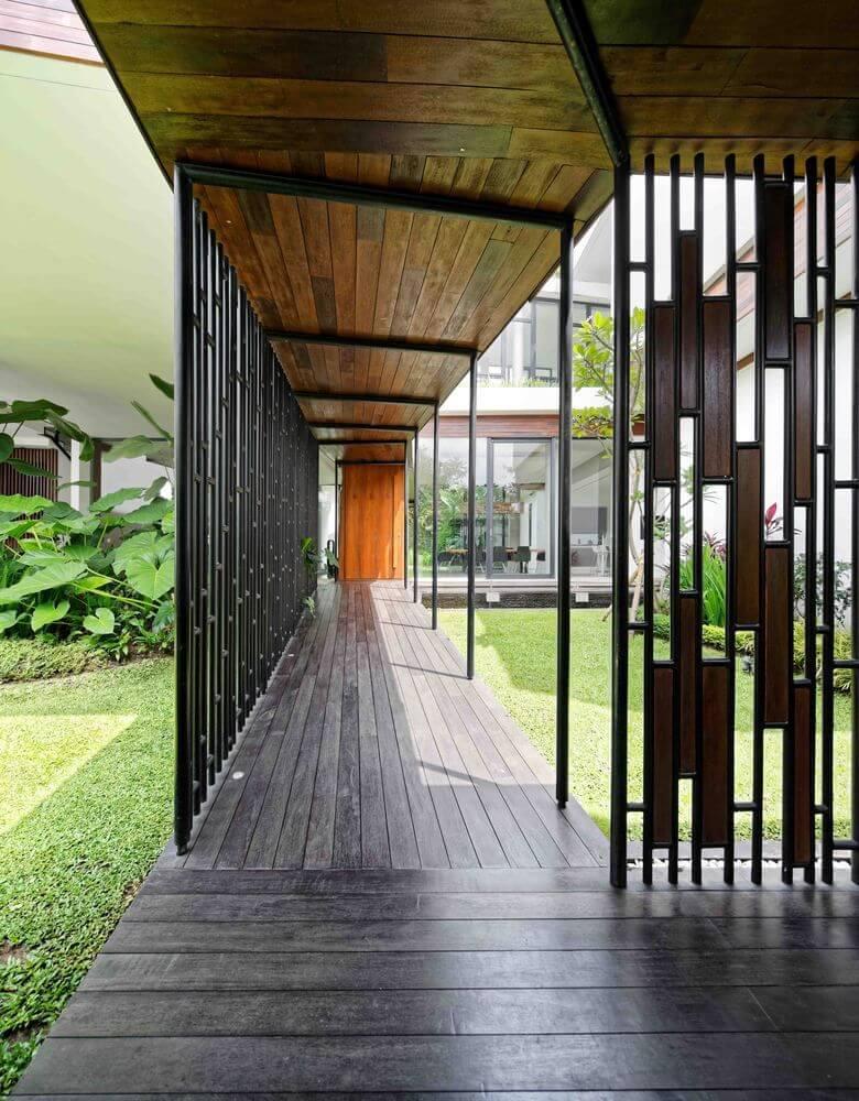 Long House được thiết kế với hình dáng dài