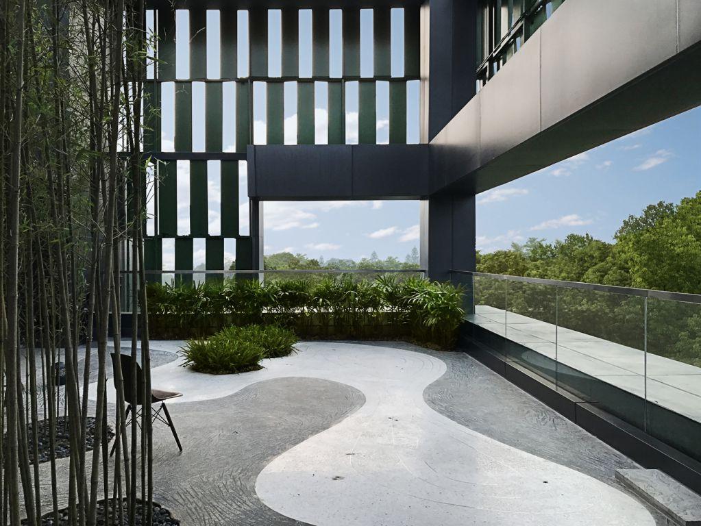 Thiền Sky Garden