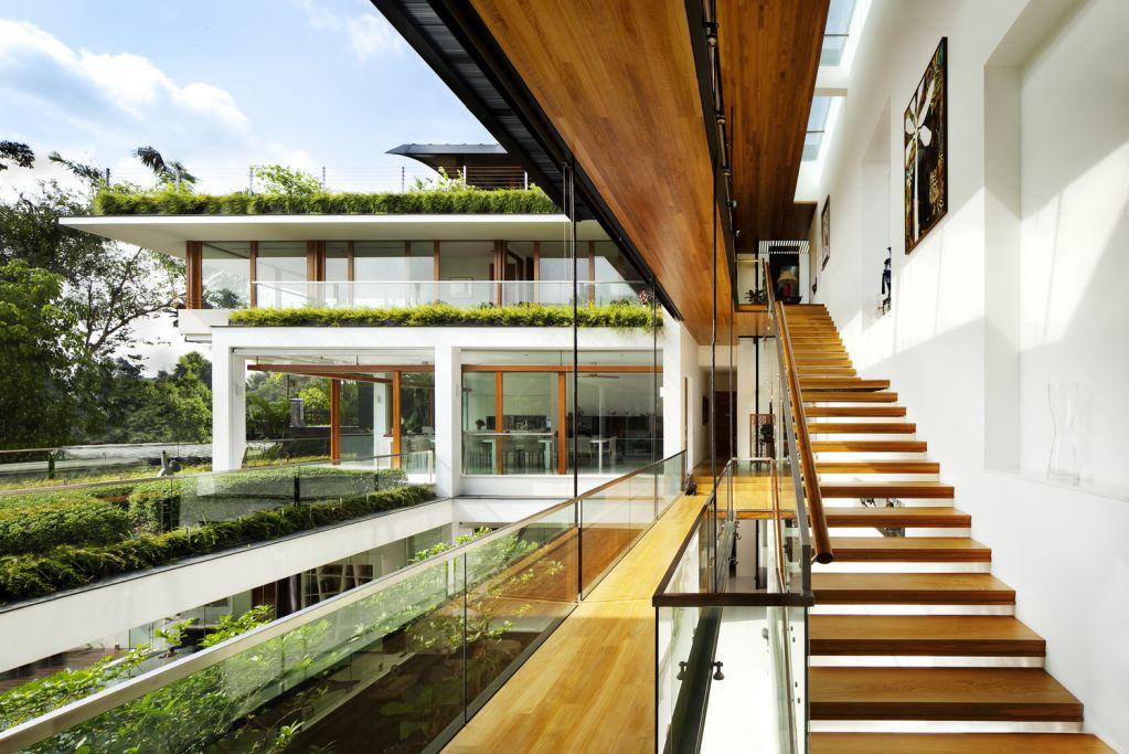 Dự án thiết kế nội thất Dalvey Road House của Guz Architects tại Singapore