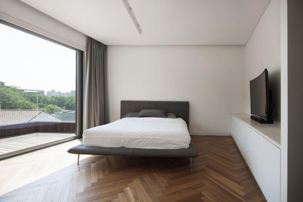 Thiết kế nội thất mềm mại bên trong không gian