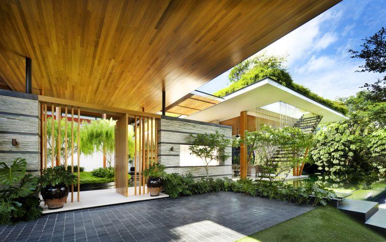 Thiết kế vườn trên mái nhà đẹp