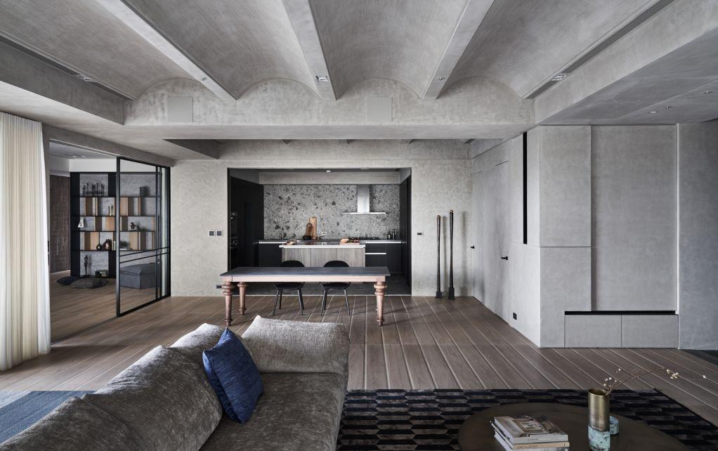 Dự án thiết kế nội thất Serenity trong thành phố của Peny Hsieh Interiors