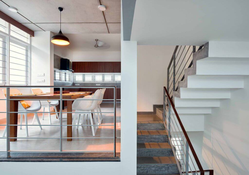 Thiết kế bếp và phòng đa năng cho không gian