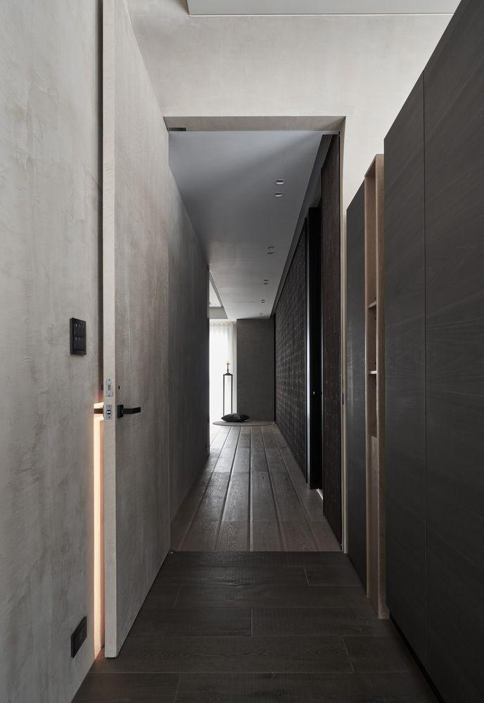 Thiết kế lối vào dẫn đến phòng ngủ chính