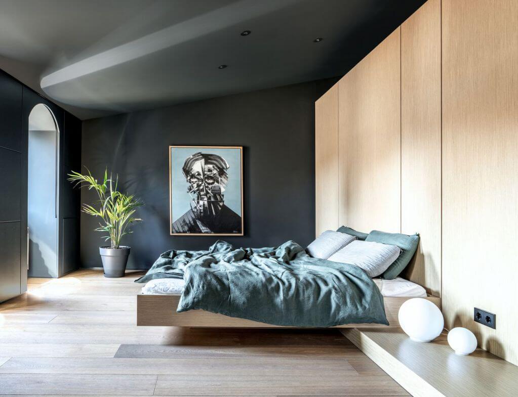 Thiết kế phòng ngủ chính của dự án
