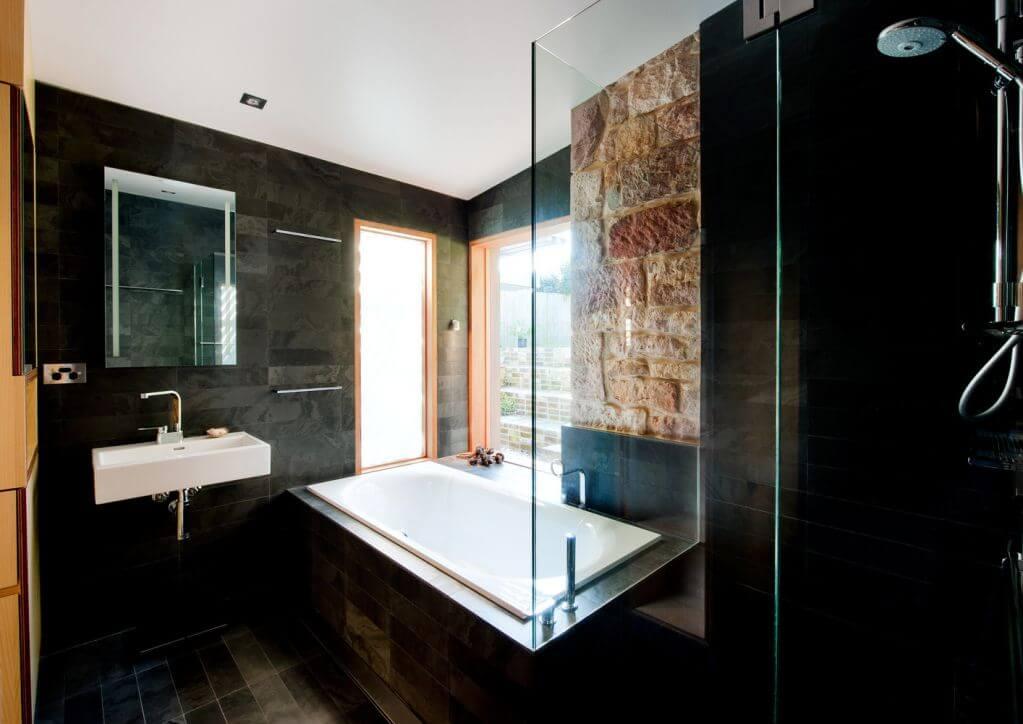 Thiết kế phòng tắm trong suốt