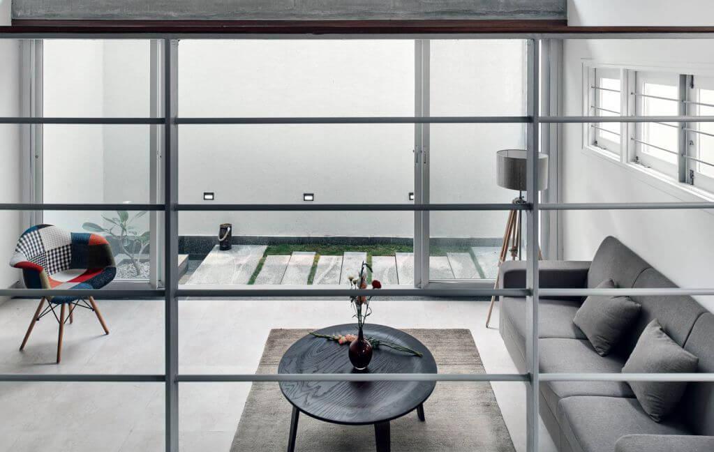 Ý tưởng thiết kế tòa nhà hướng nội đầy đủ ánh sáng