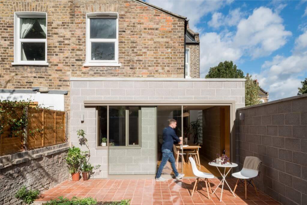 Dự án thiết kế nội thất Block House của Nimtim Architects