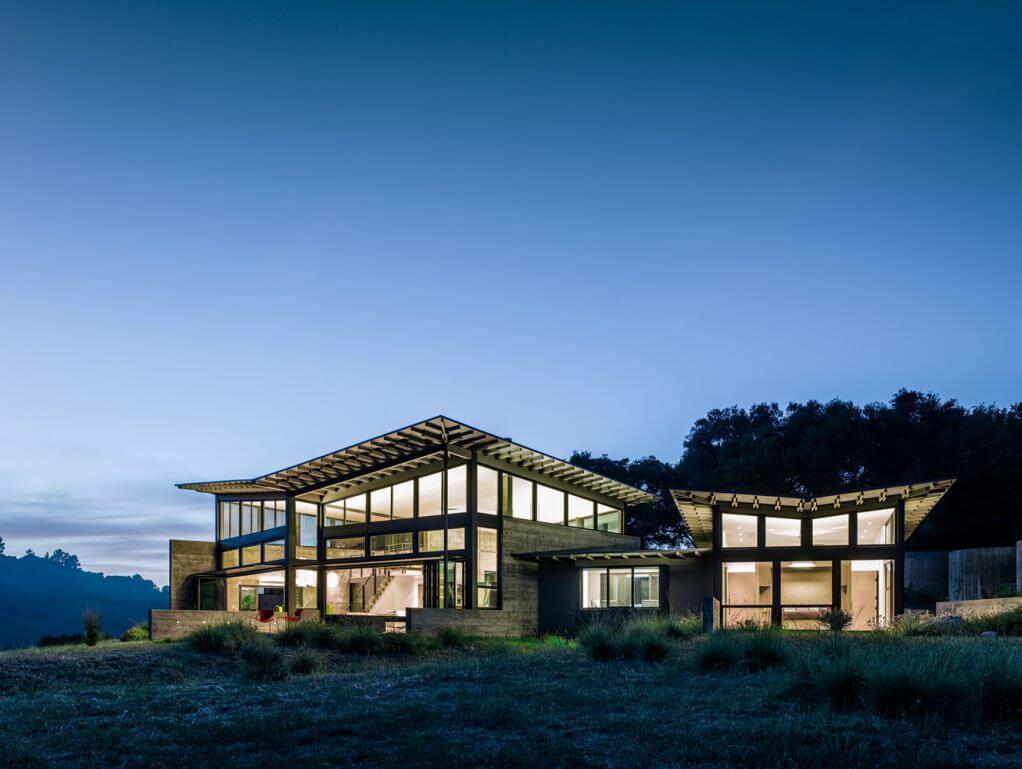 Dự án thiết kế Butterfly House của Feldman Architecture