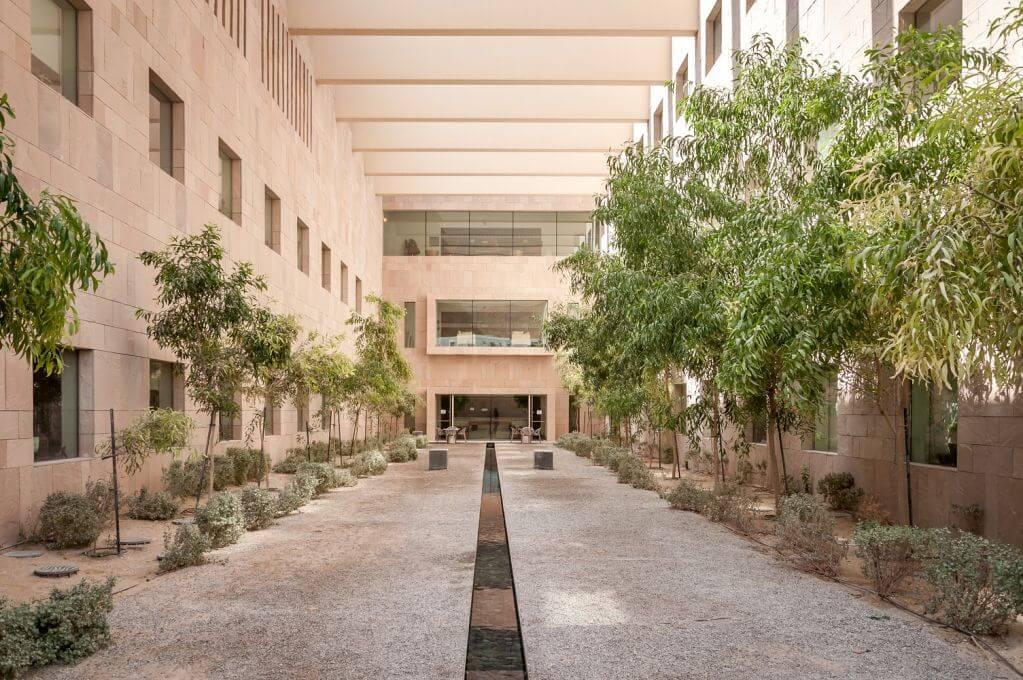 Dự án thiết kế Georgetown University của Legorreta