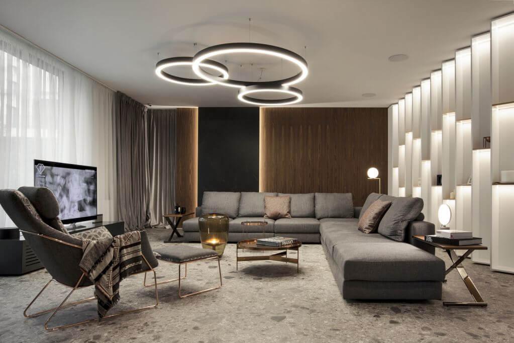 Thiết kế trần nhà độc đáo