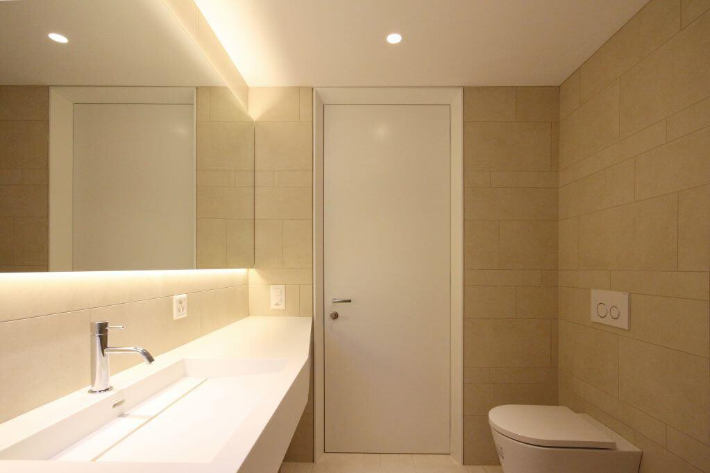 Gạch porcelain sử dụng cho không gian phòng tắm
