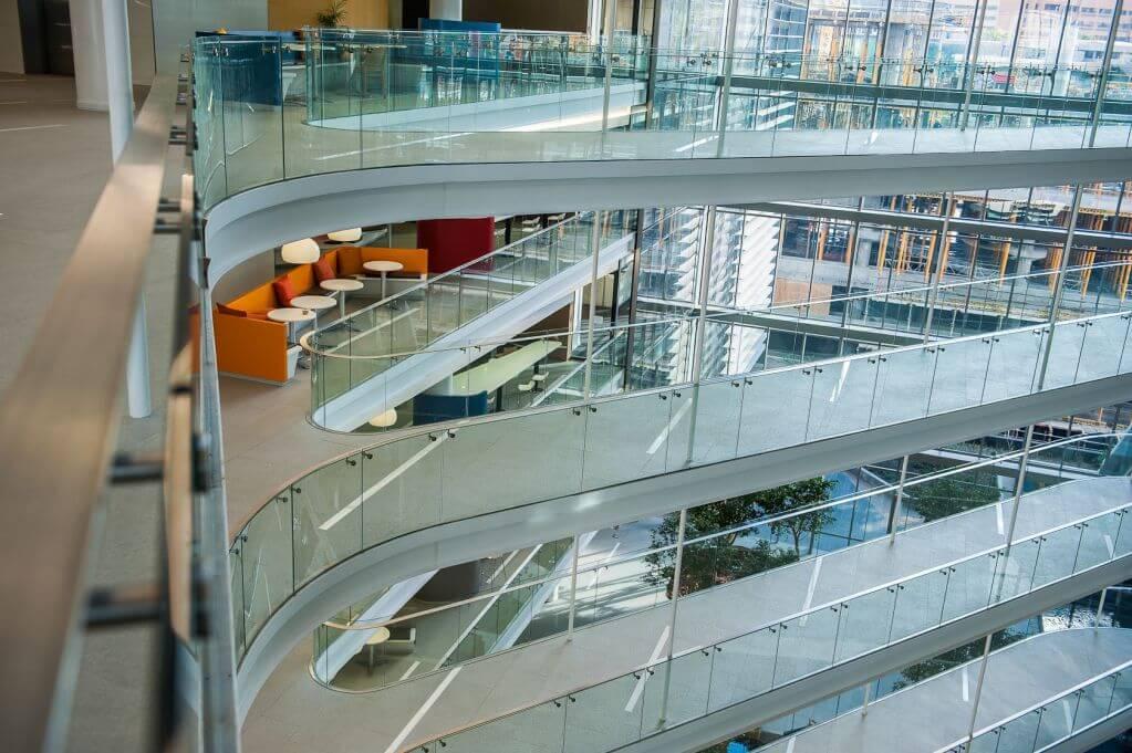 Sự linh hoạt với lối di chuyển bên trong tòa nhà