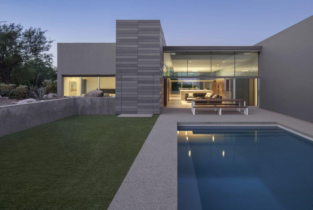 Thiết kế hướng nhìn rộng của ngôi nhà