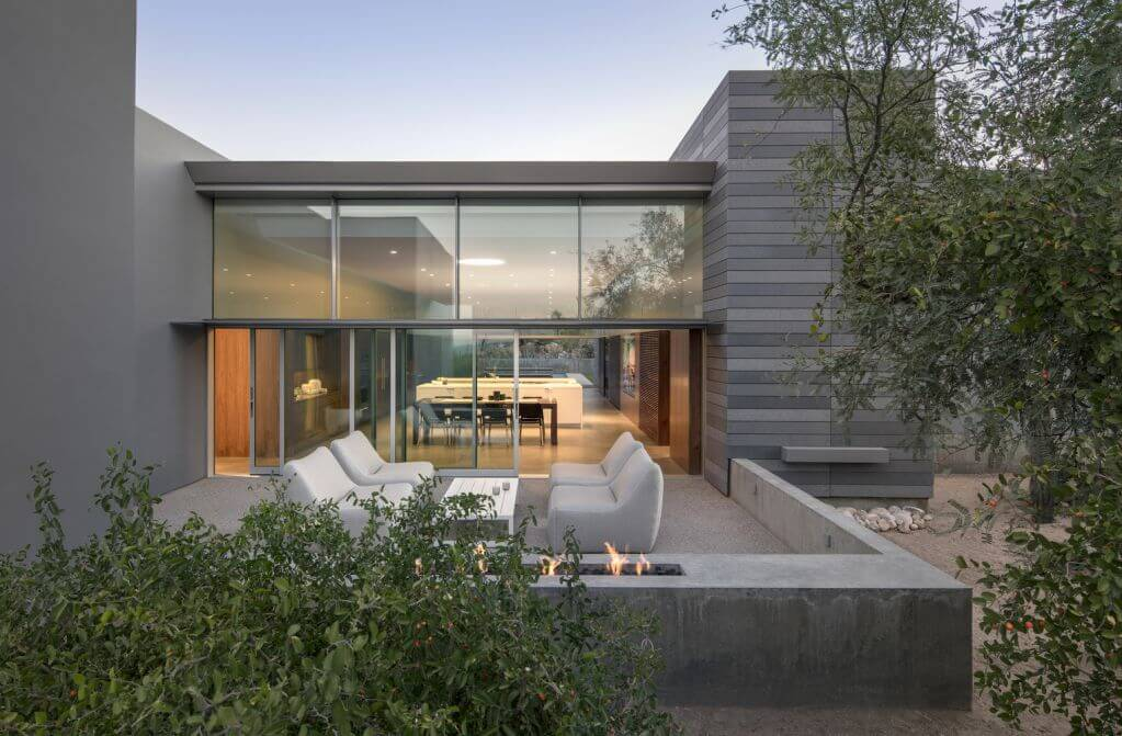Dự án ngôi nhà Canyon House của HK Associates của Hoa Kỳ