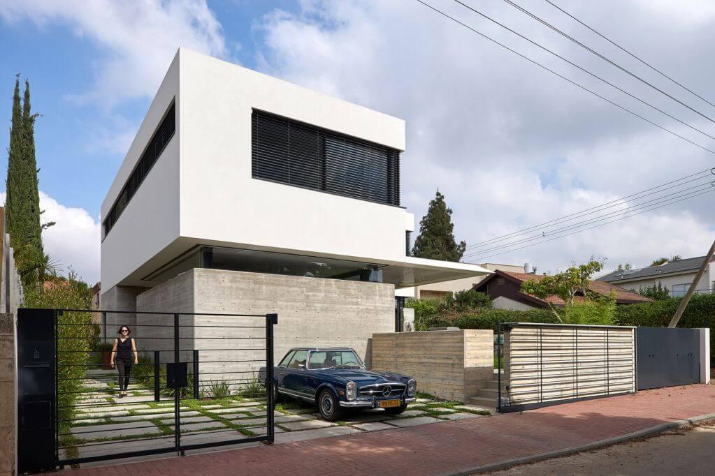 Dự án Neve Monoson House 3 của Daniel Arev Architecture
