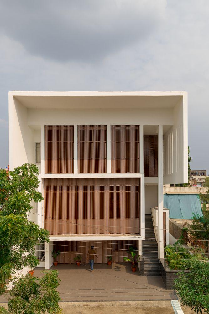 Dự án Tube Well House tại India của Atelier Shantanu Autade