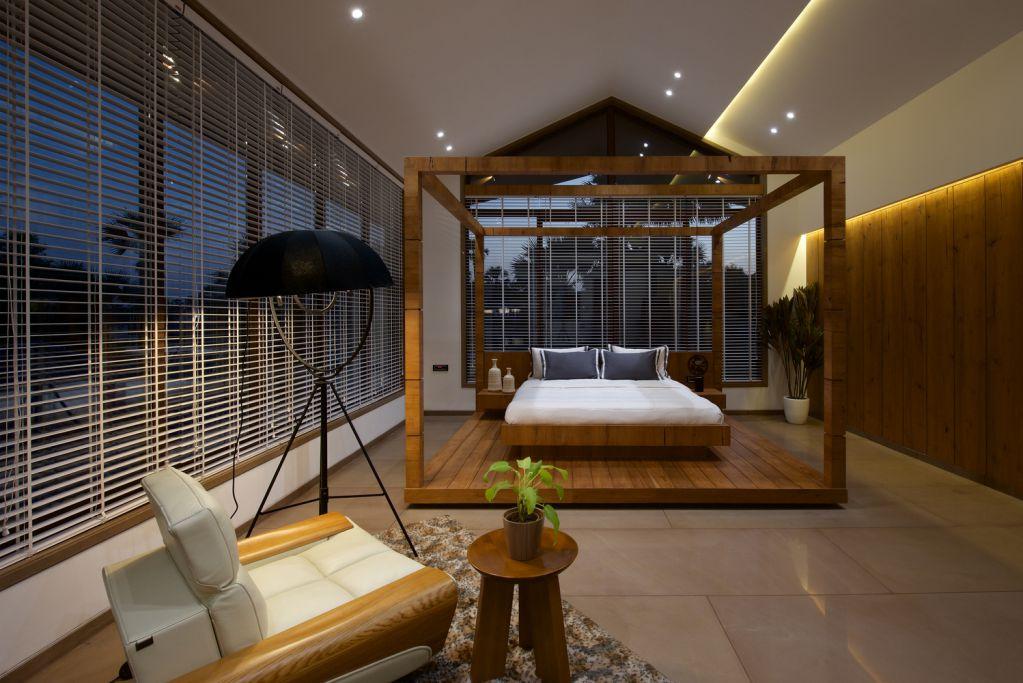 Gable House được thiết kế như một không gian thư giãn