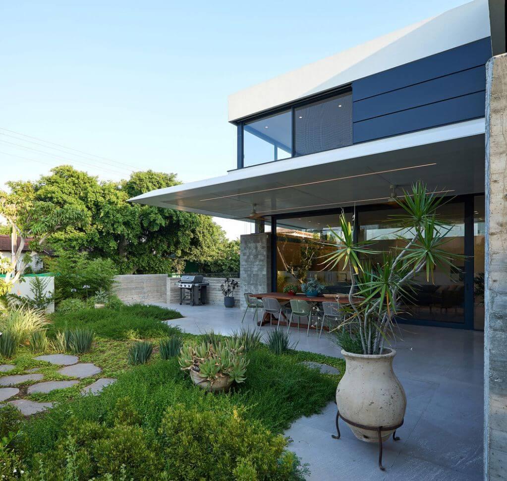 Khu vườn được thiết kế để tạo ra sự ấm áp