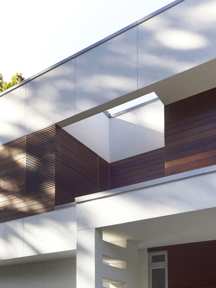 Thiết kế mái hiên của ngôi nhà