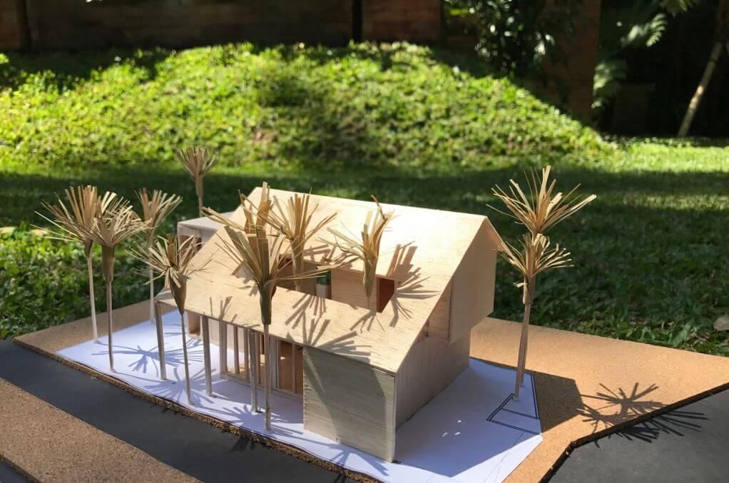Ý tưởng thiết kế không gian cung cấp nhiều nước mưa cho ngôi nhà