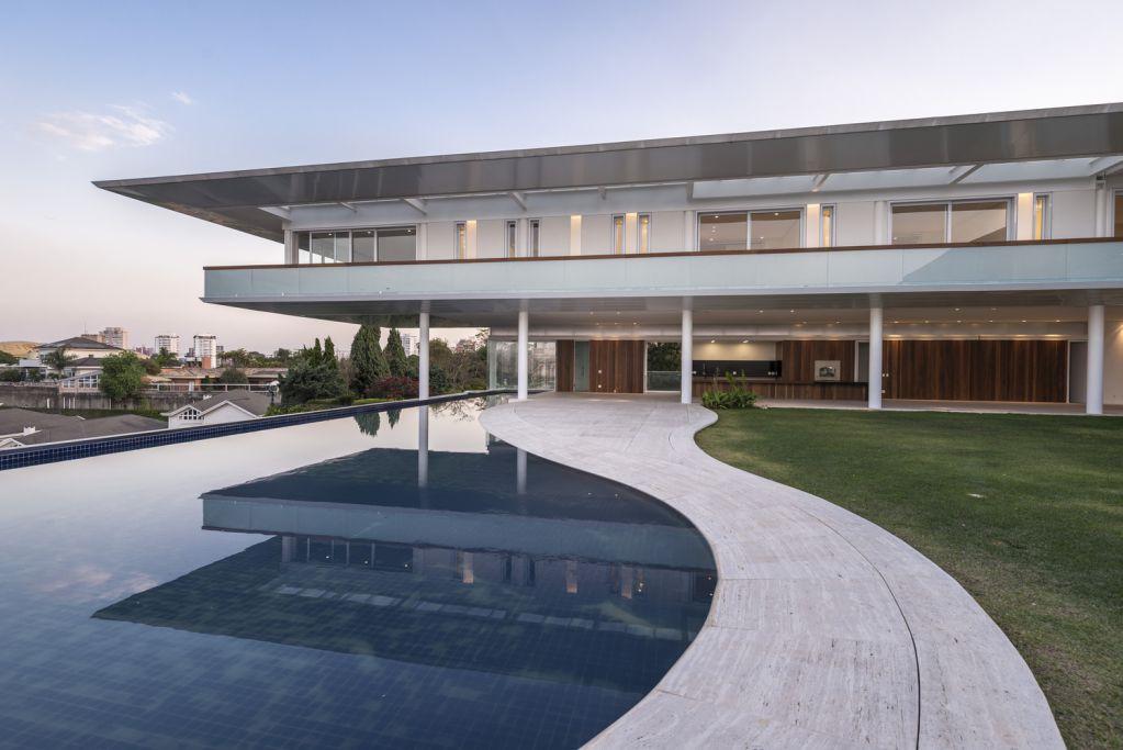 HCO Morumbi House thiết kế tạo ra sự thoải mái
