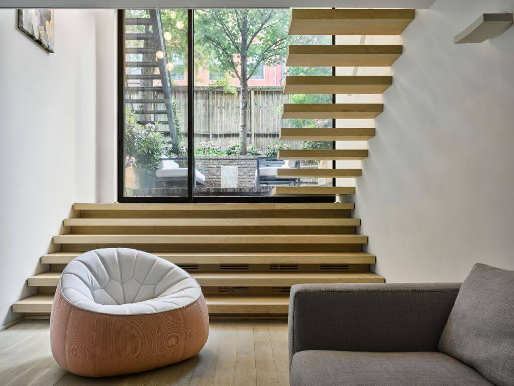 Dự án thiết kế nhà ở Chelsea Triplex của De-Spec tại New York
