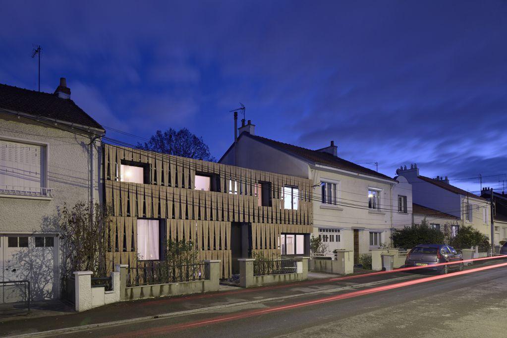 Dự án thiết kế nhà ở Puzzle House của Mabire Reich tại Pháp