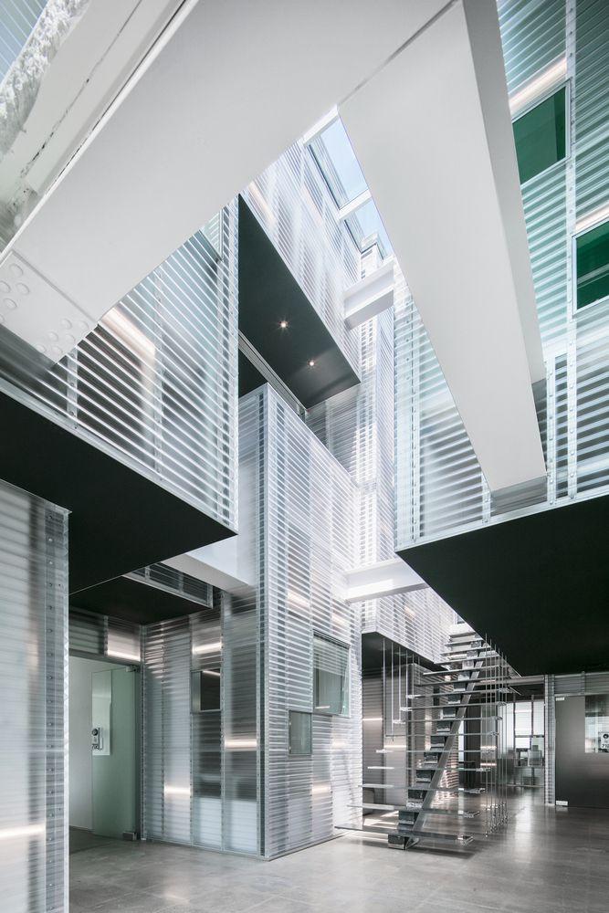 Dự án thiết kế kiến trúc Station NEO tại Hàn Quốc của Atelier Archi Mosphere