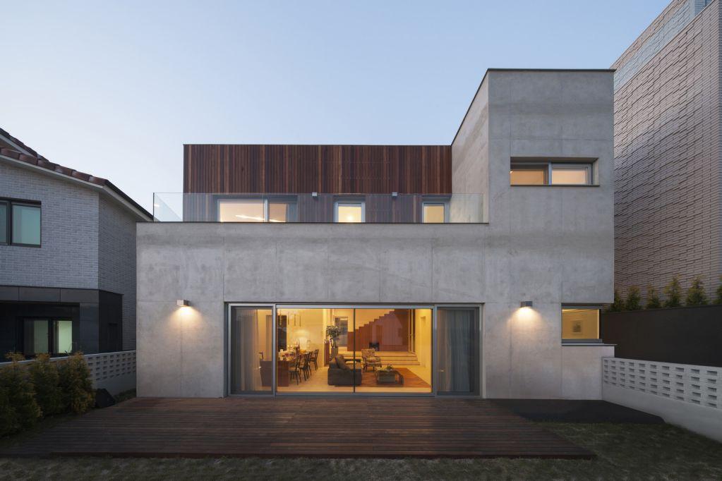 Dự án thiết kế nhà ở Signature House tại Hàn Quốc của 100A Associates