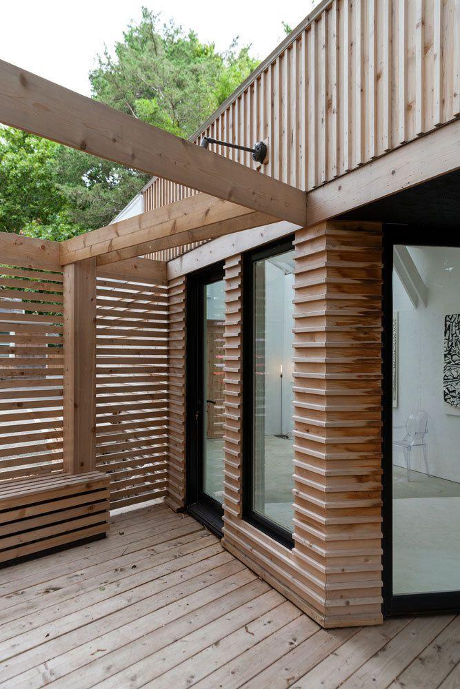 Vật liệu bằng gỗ tự nhiên được thiết kế cho dự án