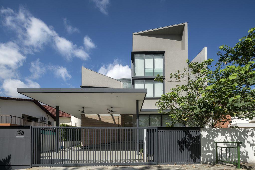 Freight Architects thành công cho dự án Pyrite House