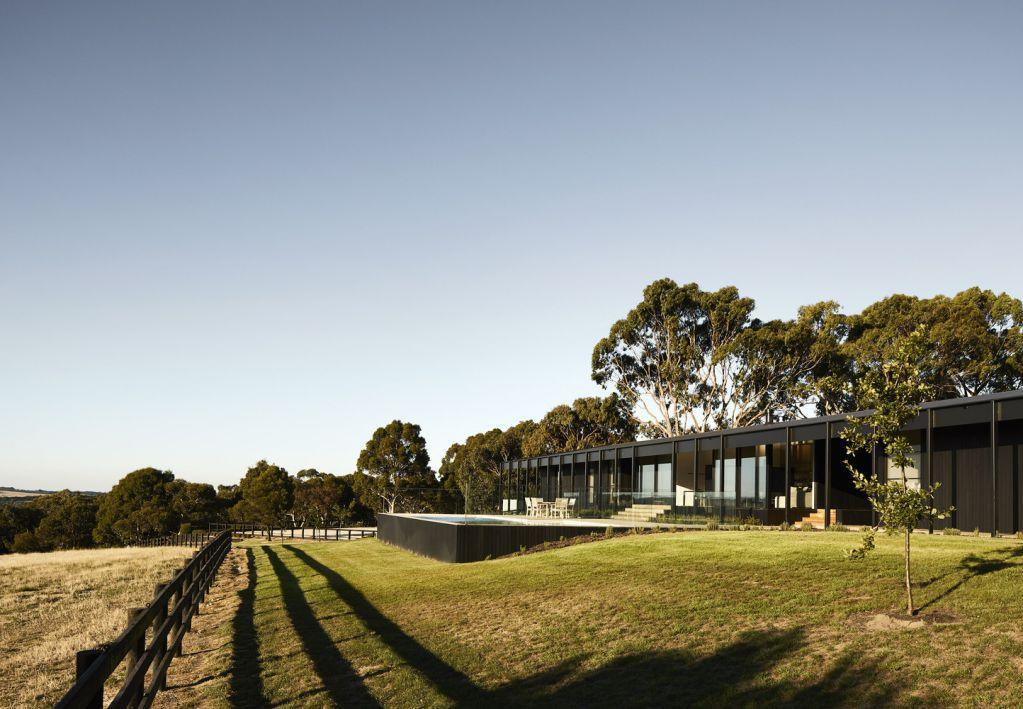 Red Hill Farm House là sự kết hợp của Carr và Jackson Clements Burrows Architects