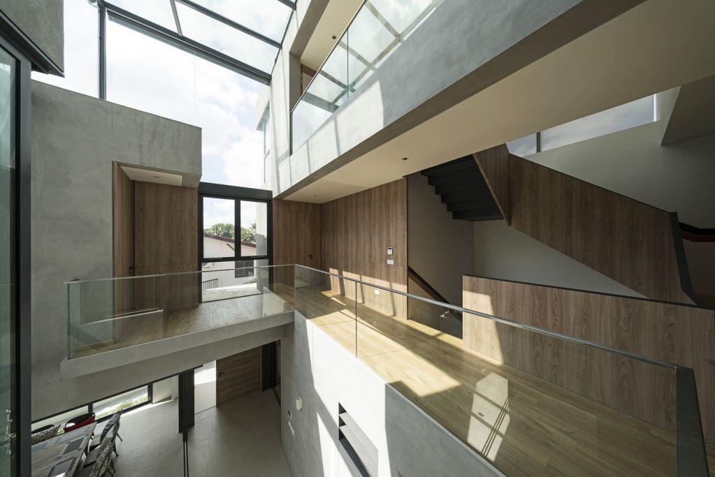 Dự án thiết kế Pyrite House tại Singapore của Freight Architects