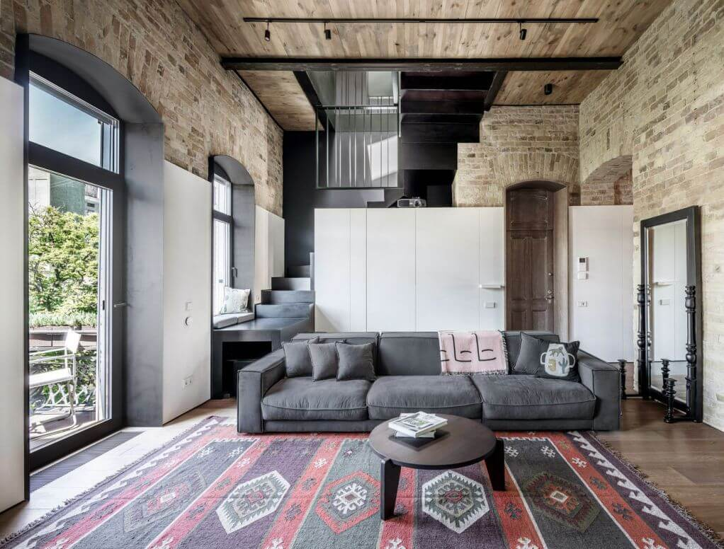 Dự án thiết kế căn hộ PUSHKA Apartment của 2B Group