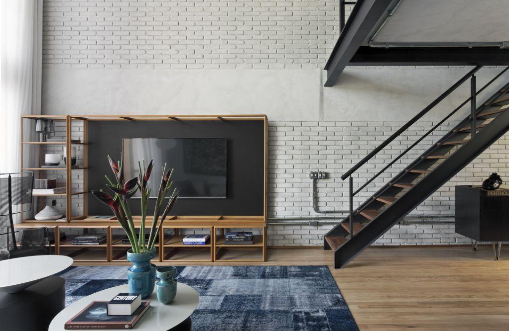 Dự án thiết kế Industrial Loft II của Diego Revollo Arquitetura