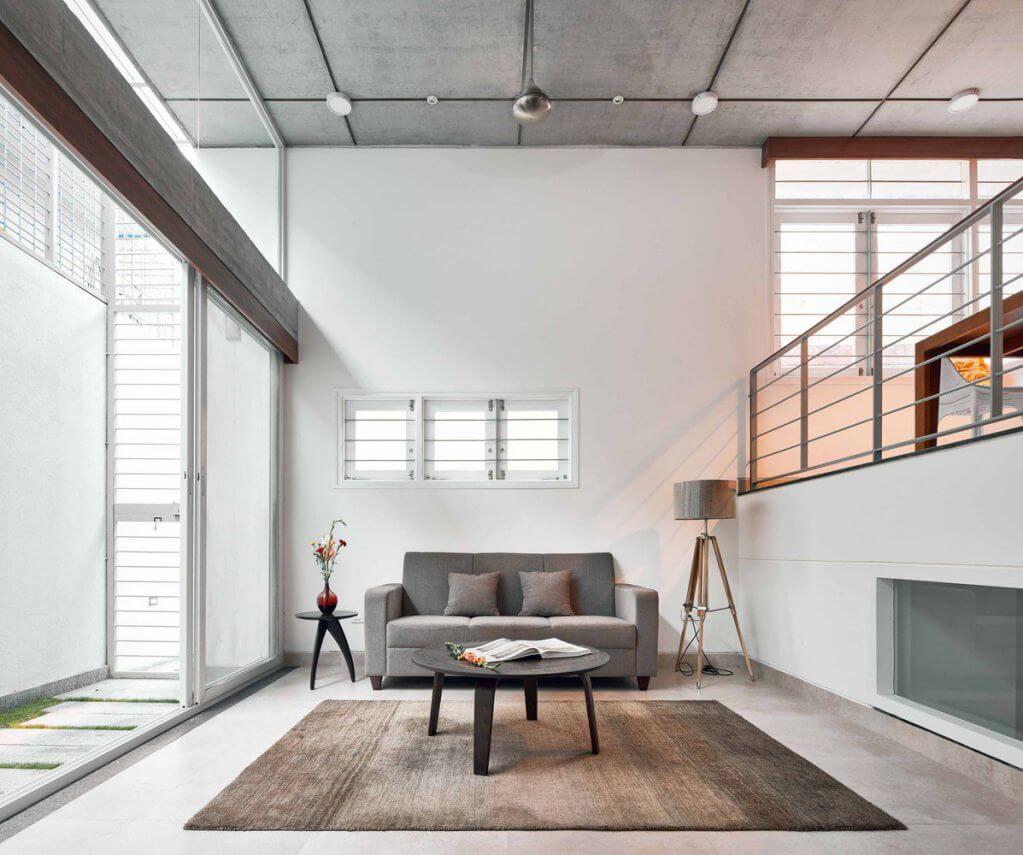 House S được thiết kế theo phong cách đơn giản