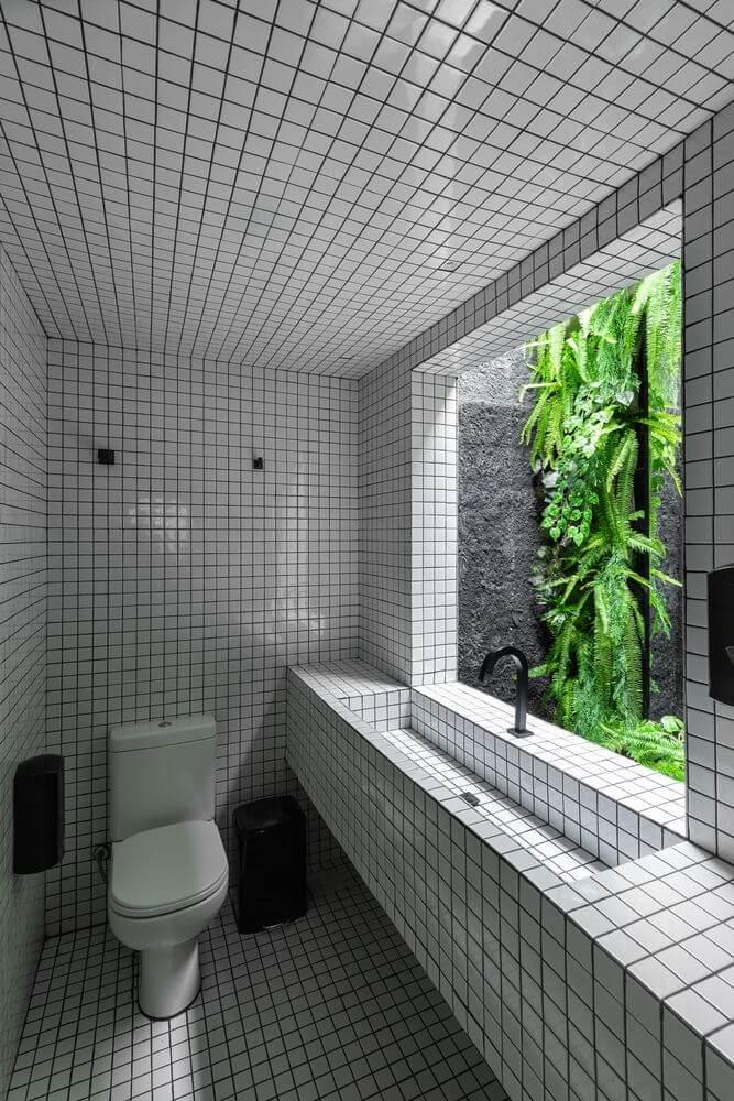 Nhà vệ sinh được thiết kế một cách sáng tạo