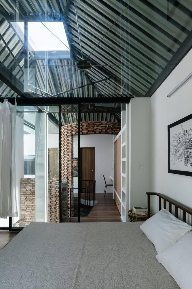 Thiết kế tập trung vào sự riêng tư và chiều cao của ngôi nhà