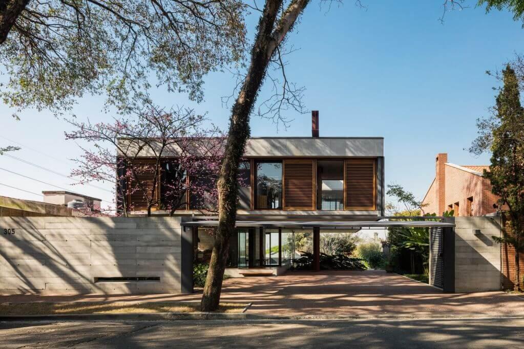 House Villa Lobos thiết kế thích nghi với điều kiện tự nhiên