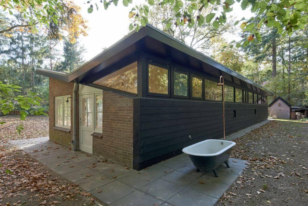 Dự án thiết kế kiến trúc Woodland Cottage Epse của Eek En Dekkers tại Hà Lan