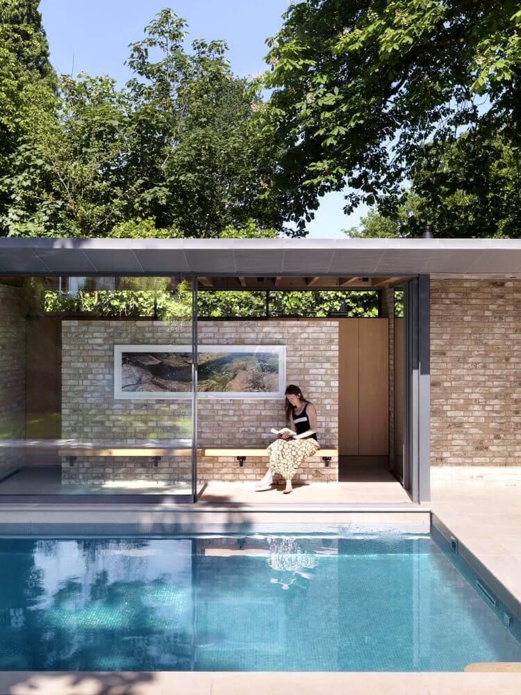 Dự án thiết kế nội thất Pavilions trong một khu vườn của Threefold Architects