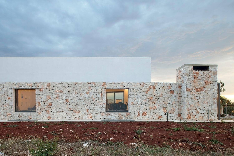 Dự án thiết kế tại vùng nông thôn với vật liệu truyền thống