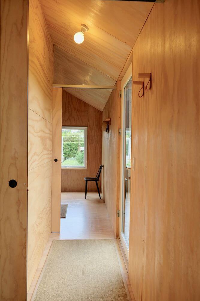 Hình dáng ngôi nhà nhỏ thích nghi tối ưu hóa không gian
