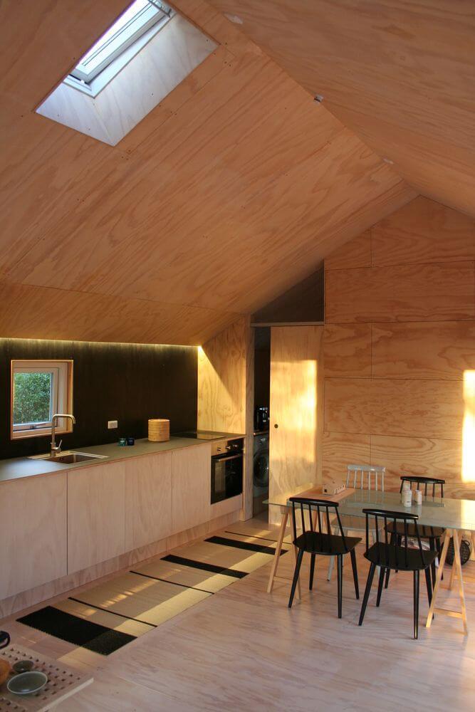 Ngôi nhà sử dụng vật liệu tái chế theo phong cách Bắc Âu