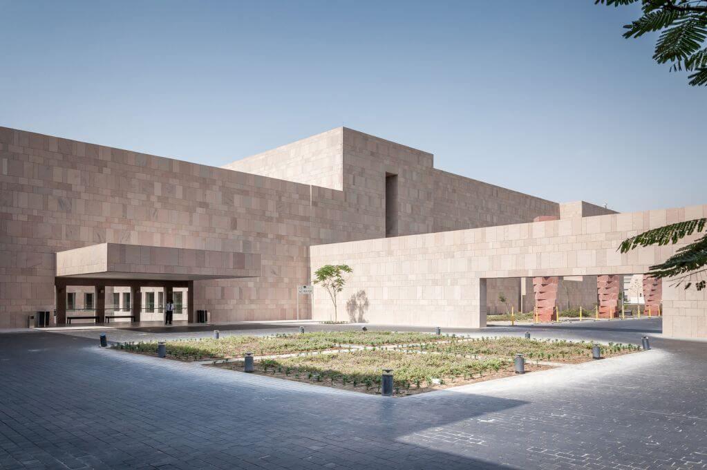 Nơi đây trở thành thư viện trung tâm của dự án