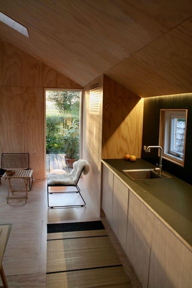 Nội thất tích hợp khéo léo trong kiến trúc