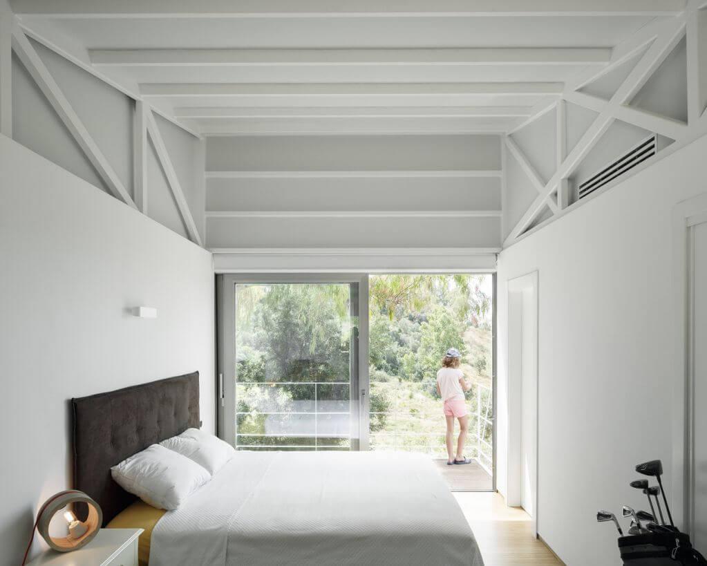 Thiết kế phòng ngủ có view rộng